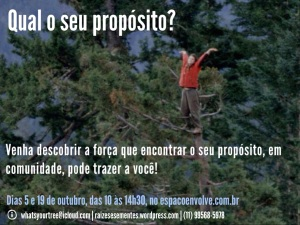 What's Your Tree no Espaço Envolve